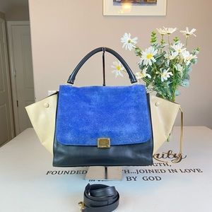 Celine Trapeze Handbag Shoulder Bag